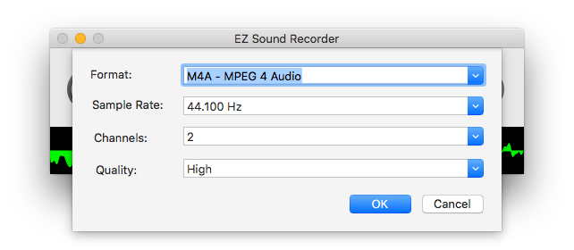 EZ Sound Recorder, MP3 Recording Software Screenshot