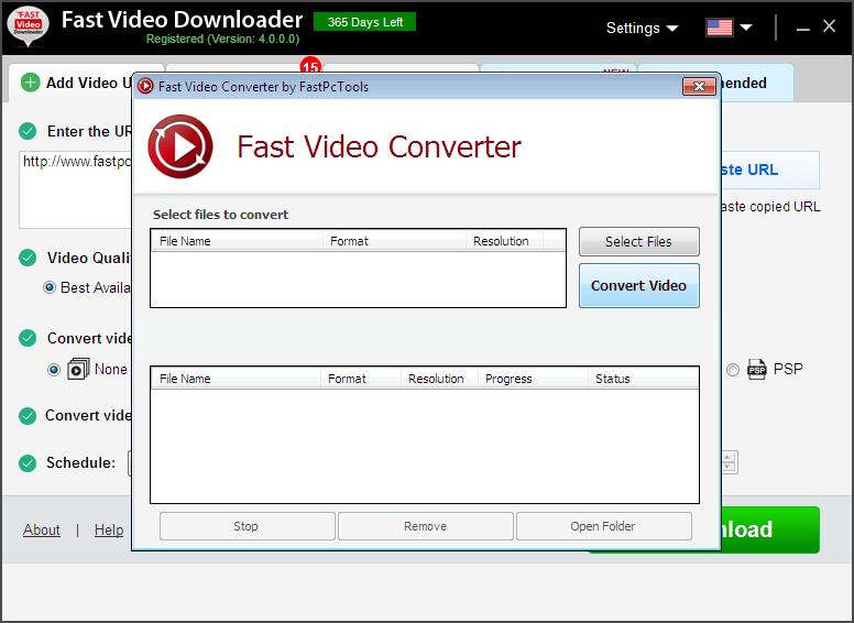 Internet Software, YouTube Downloader Software Screenshot