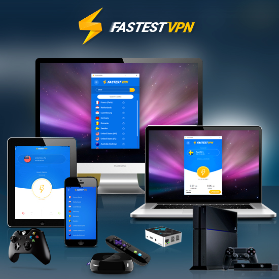 FastestVPN - Lifetime 15 Users Screenshot
