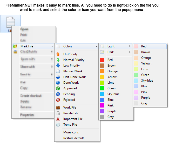 FileMarker.NET Pro Screenshot