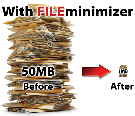 FILEminimizer Suite V7 Screenshot