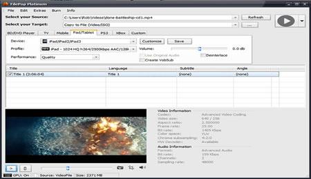 FilePop HD Platinum Screenshot