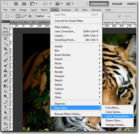 Video Software, Fima effects pack Screenshot