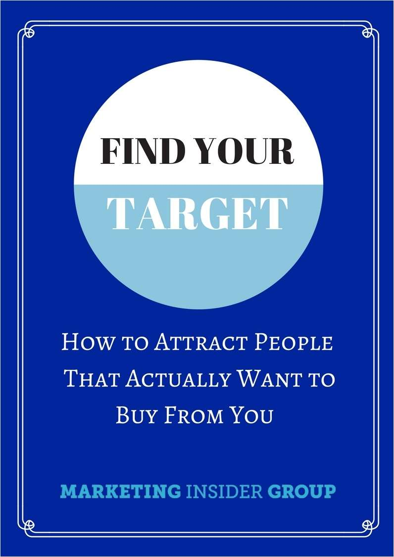Find Your Target - How To Attract People That Actually Want to Buy From You Screenshot