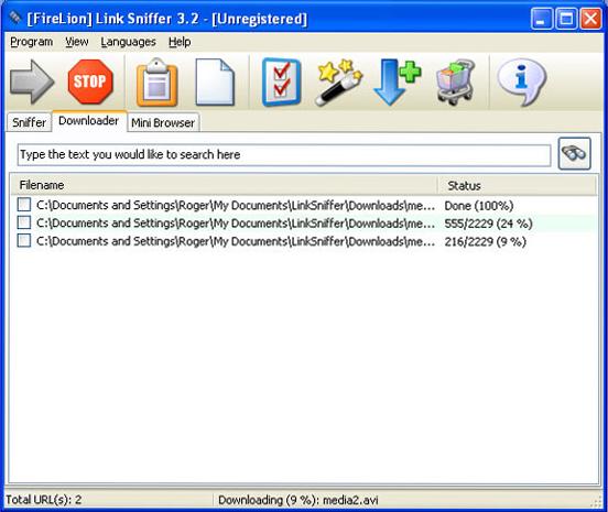 Link Sniffer - YouTube Downloader Software Download for PC
