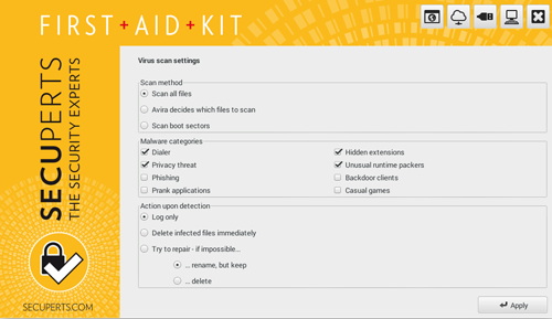 First Aid Kit Screenshot