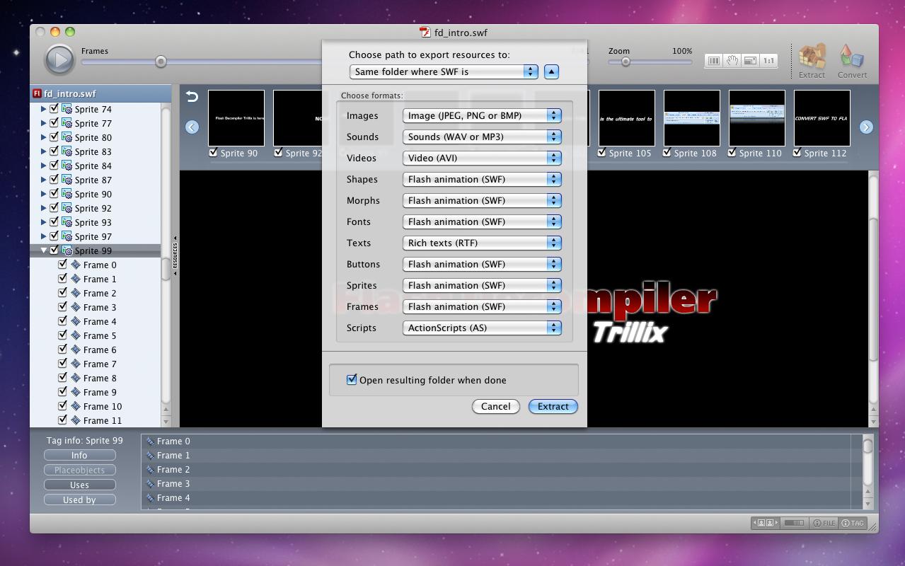 Development Software, Flash Software Screenshot