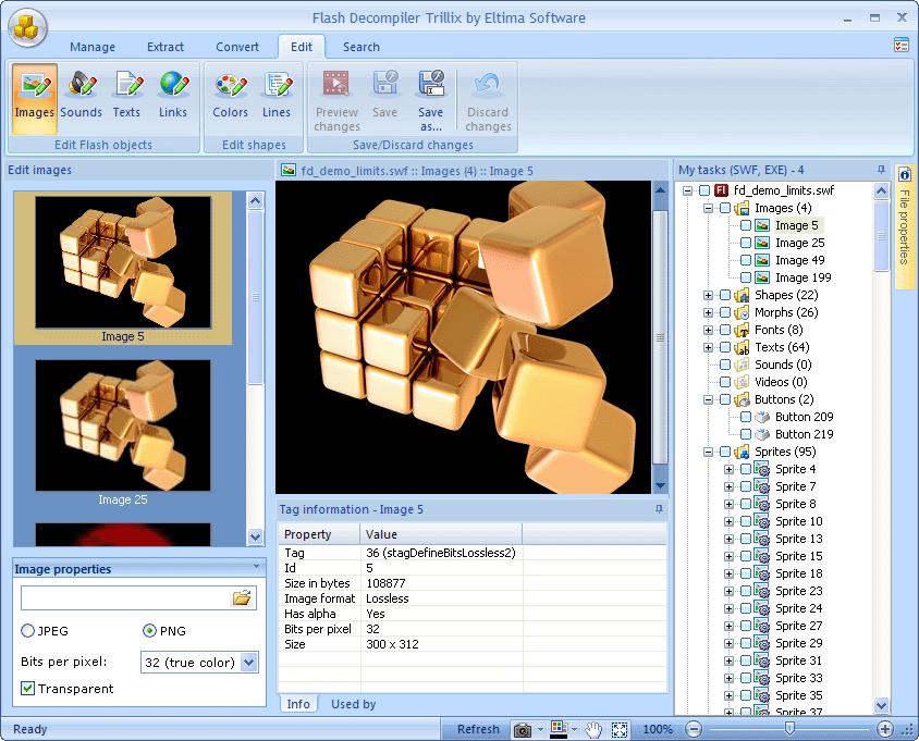 Flash Software Screenshot