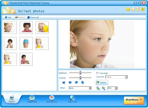 Slideshow Software Screenshot