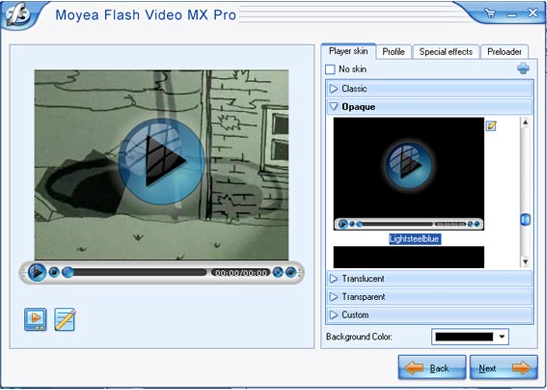 Flash Video MX Pro 6, Development Software Screenshot
