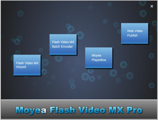 Flash Video MX Pro 6 Screenshot