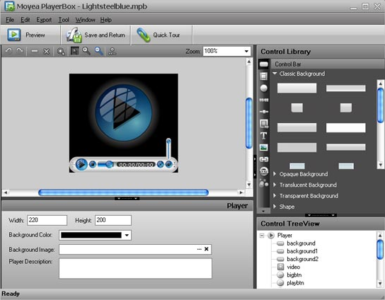 Flash Software, Flash Video MX Pro 6 Screenshot