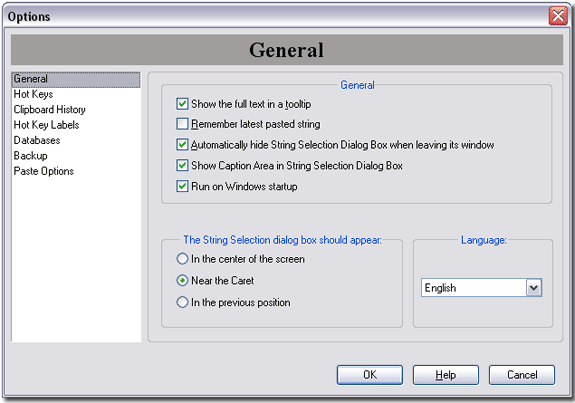 Flashpaste, Productivity Software Screenshot