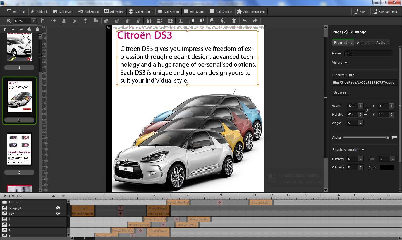 Flip HTML5, Business & Finance Software Screenshot