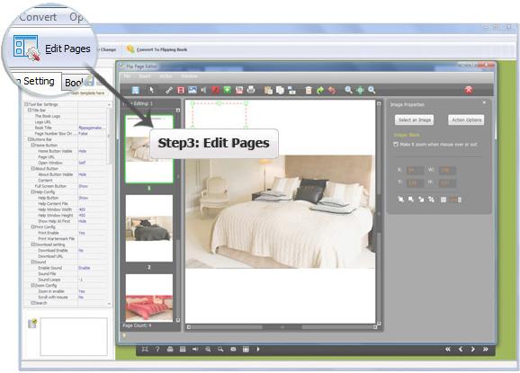 Flip Image, Slideshow Software Screenshot