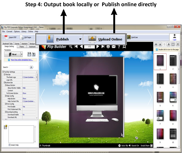 Flip PDF Corporate Edition, Business & Finance Software Screenshot