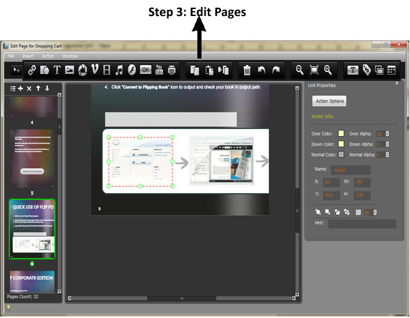 Flip PDF Corporate Edition, Presentation Software Screenshot