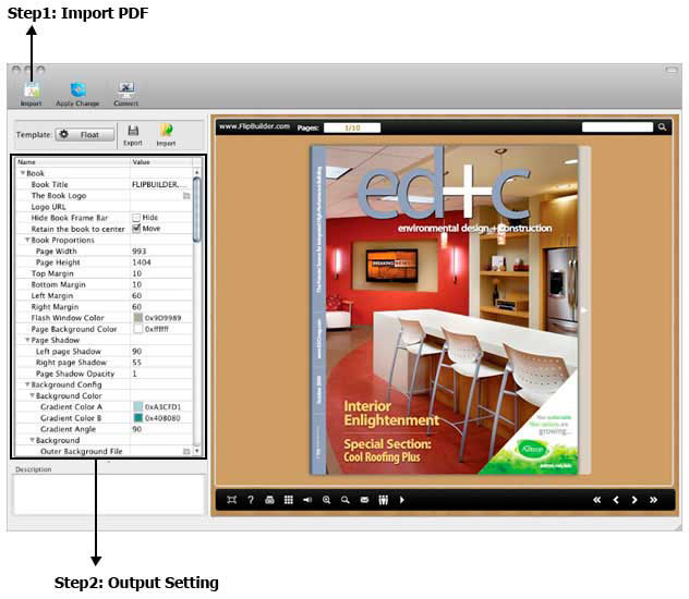 FlipBook Creator for Mac Screenshot