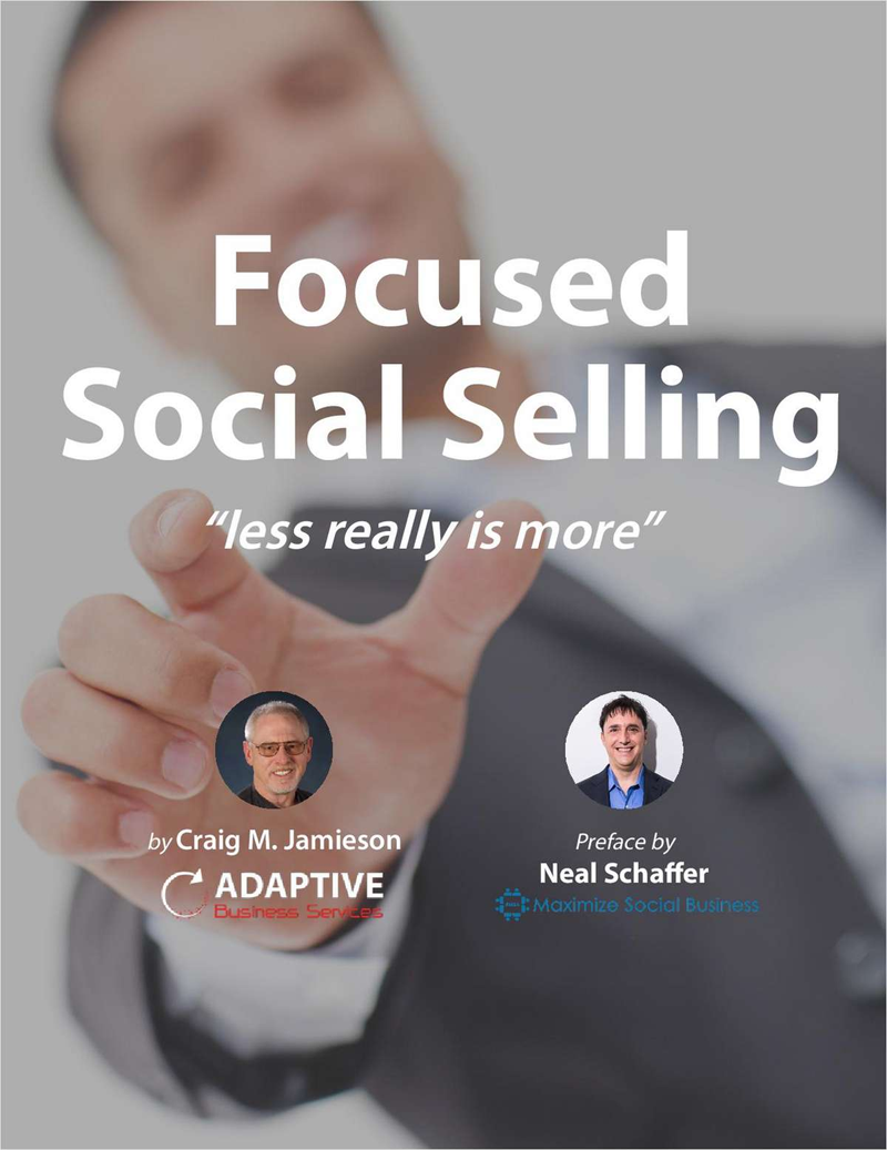 Focused Social Selling: Less Really is More Screenshot