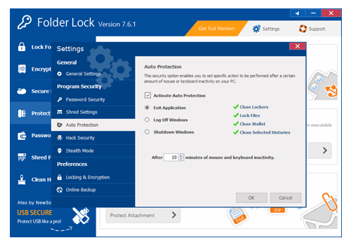 Security Software, Encryption Software Screenshot