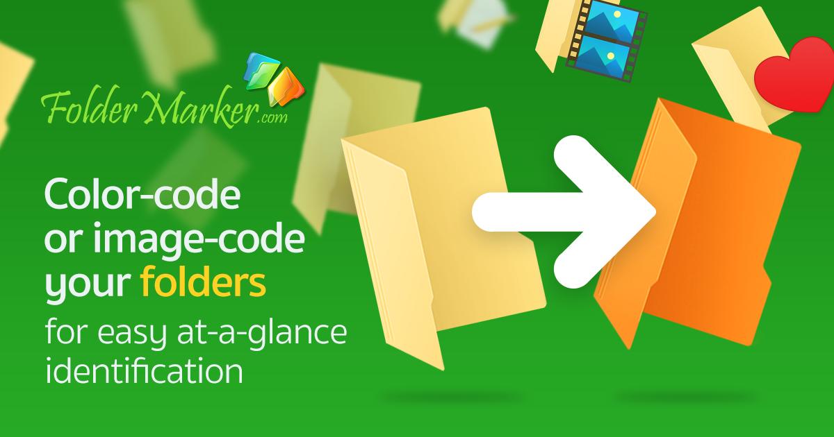 Icons Software, Folder Marker Pro + Everyday Folder Icons Bundle Screenshot