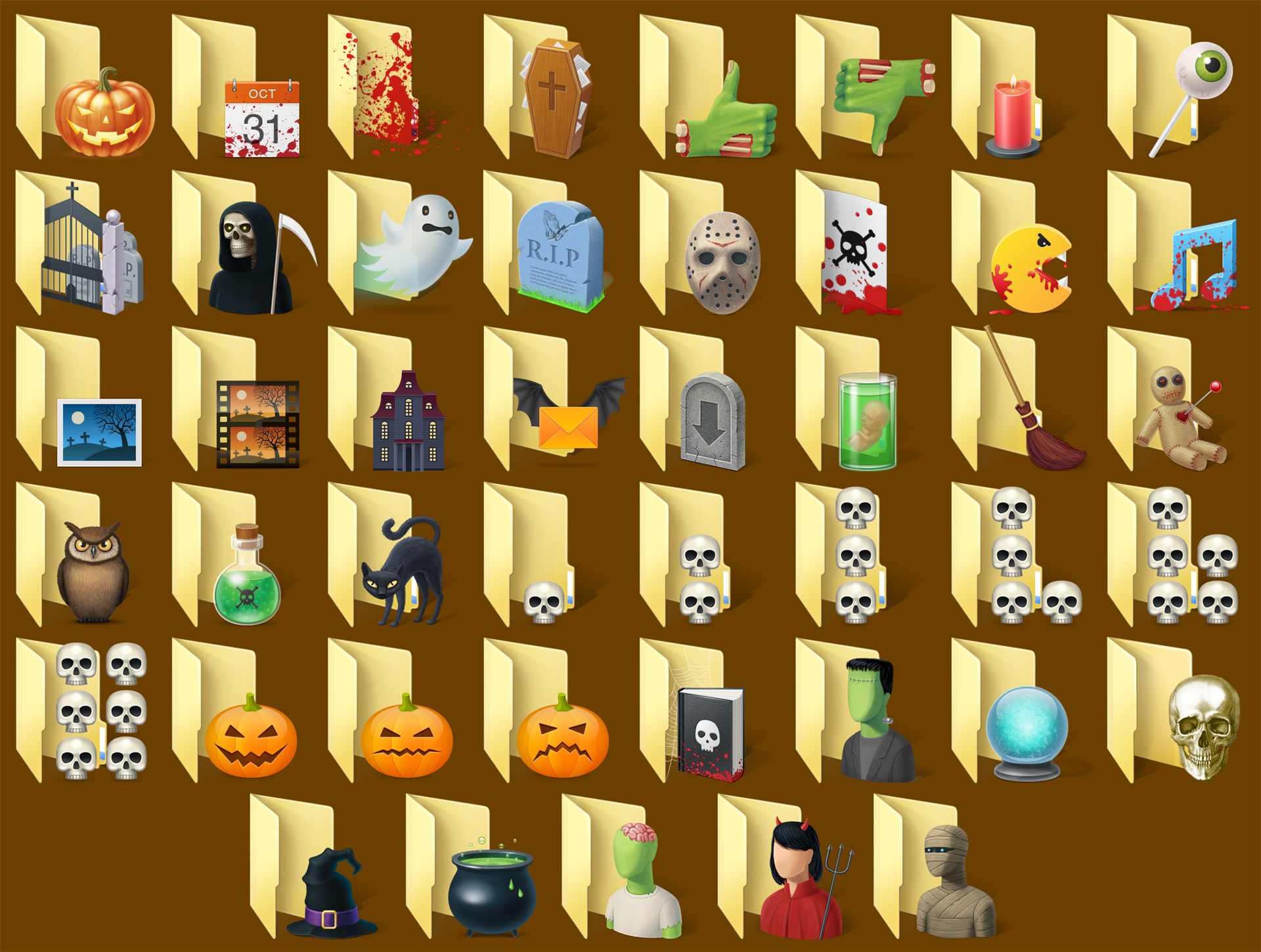 Folder Marker Pro + Halloween Folder Icons Bundle Screenshot
