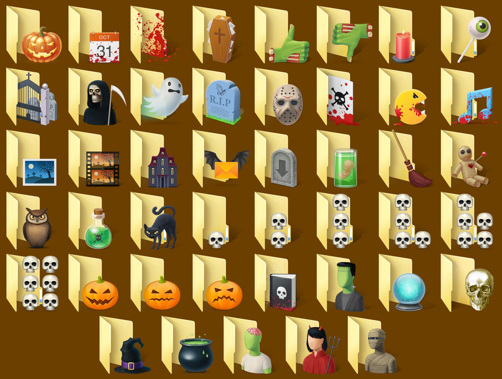 Folder Marker Pro + Halloween Folder Icons Bundle Screenshot