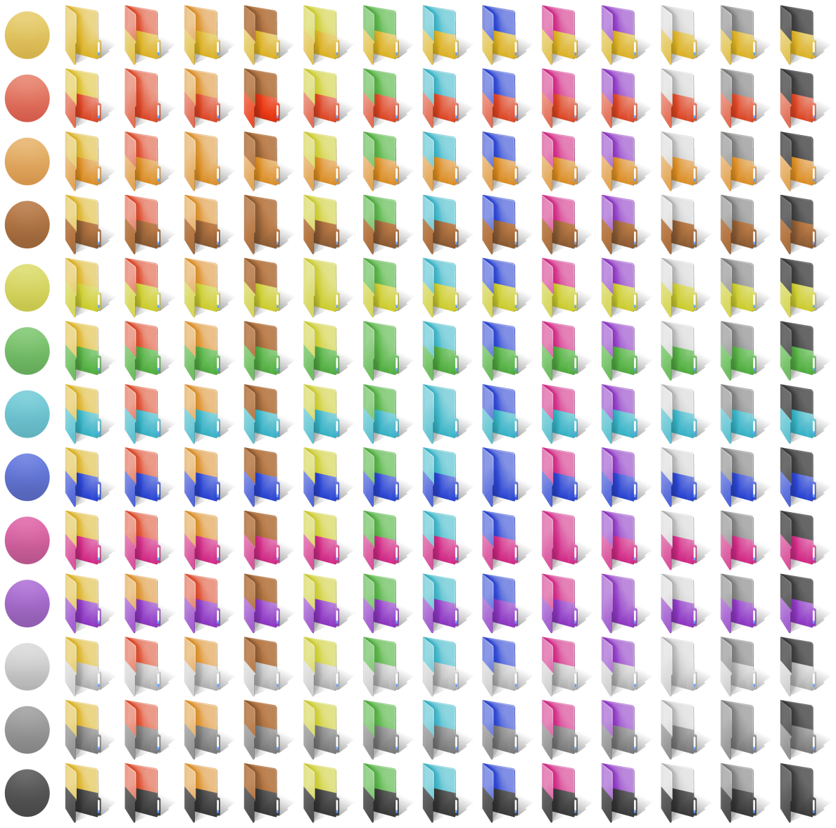 Folder Marker Pro + Two-color Folder Icons Bundle Screenshot
