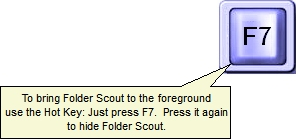Folder Scout Professional, Folder Software Screenshot