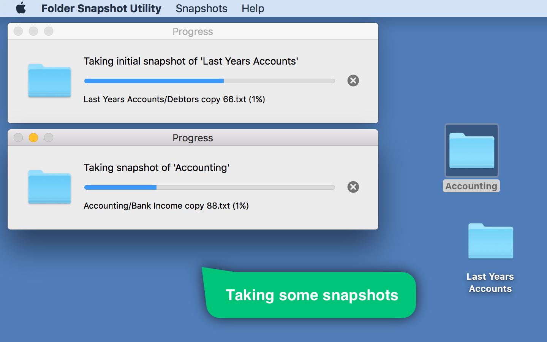 Folder Snapshot Utility Screenshot