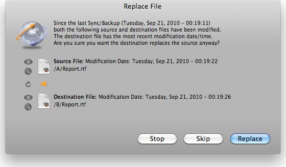 FoldersSynchronizer Screenshot 11