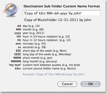 Backup Files Software Screenshot