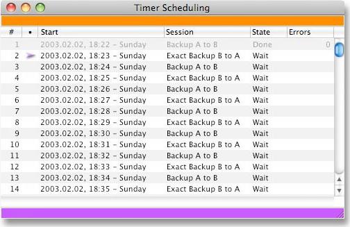 Backup Files Software, FoldersSynchronizer Screenshot