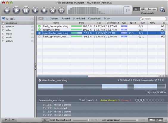 Folx PRO Screenshot