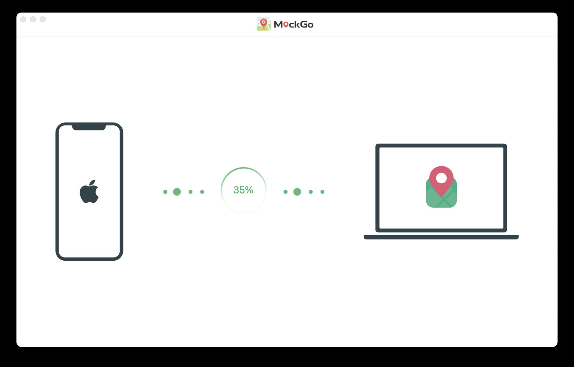 MockGo, Privacy Software Screenshot