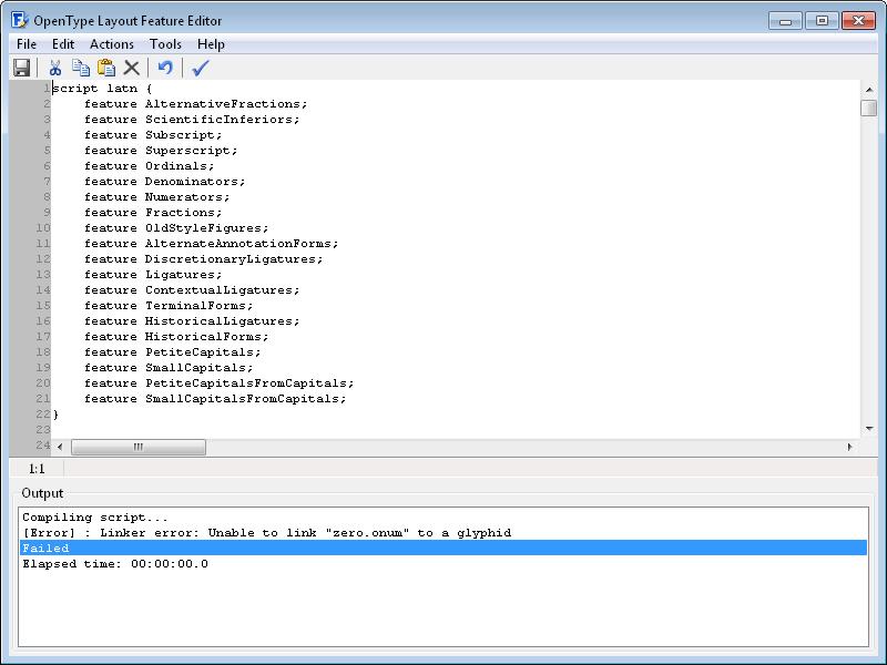 FontCreator Home Edition Screenshot 10