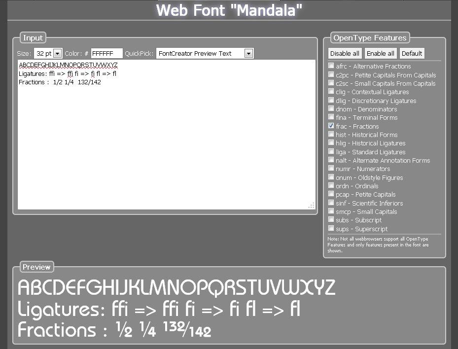 FontCreator Home Edition, Design, Photo & Graphics Software Screenshot