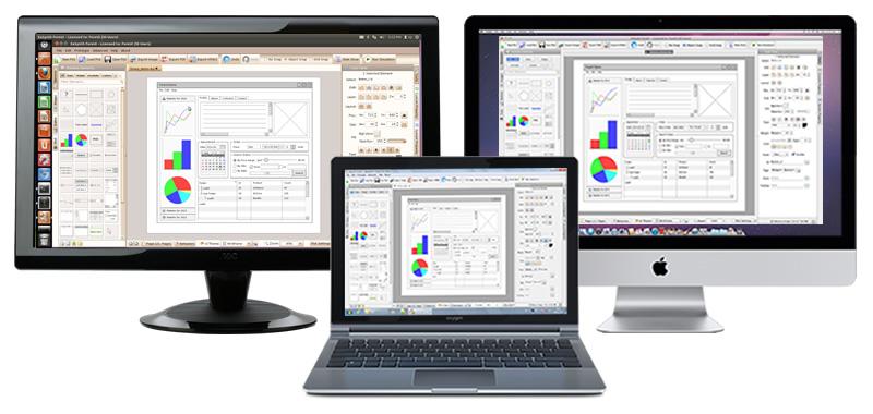 Development Tools Software, ForeUI GUI Prototyping Tool Screenshot