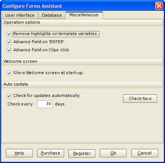 Word Processing Software, FormsAssistant Screenshot