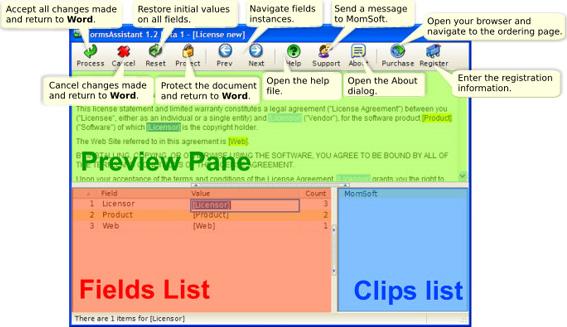 FormsAssistant Screenshot