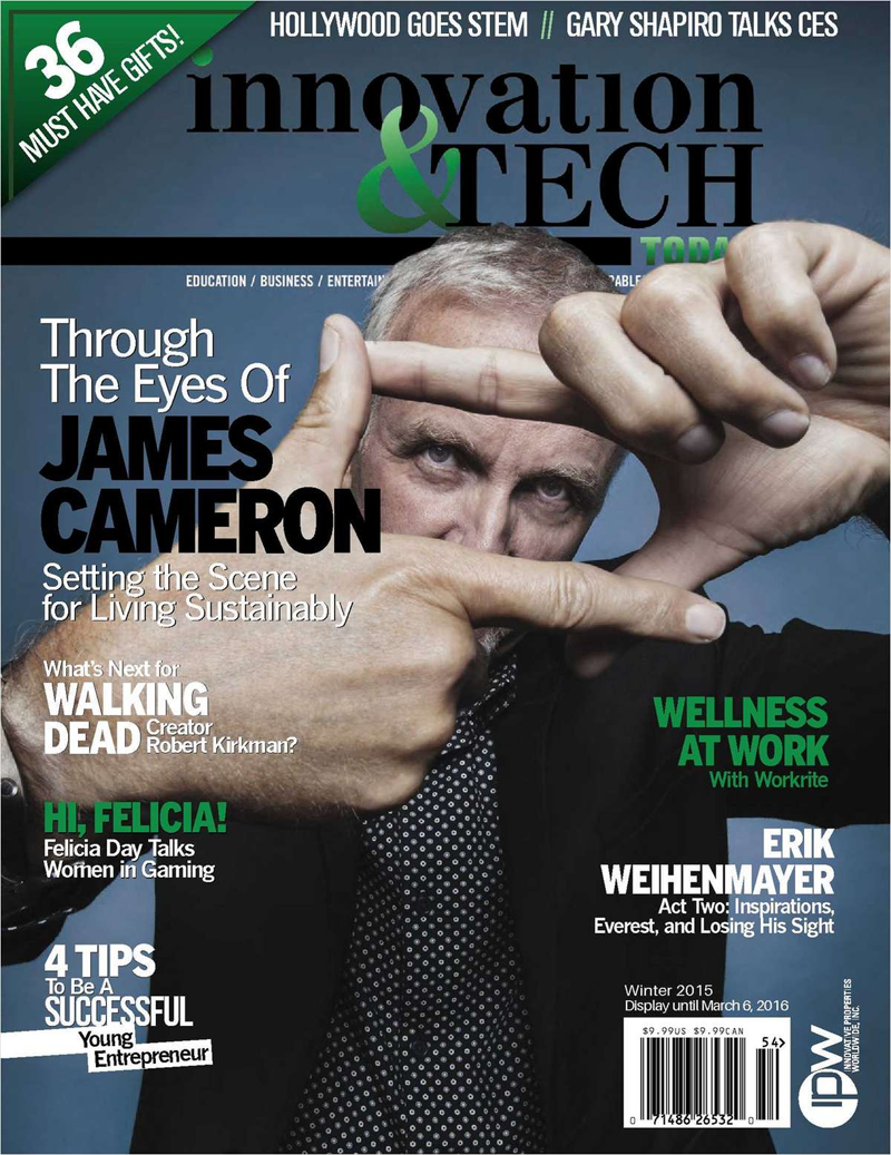 Free 3 Year Subscription to Innovation & Tech Today Magazine ($120 Value) Screenshot