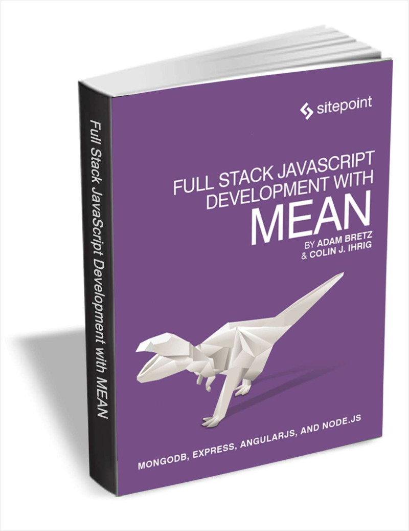Full Stack JavaScript Development with MEAN (FREE eBook, $30 Value!) Screenshot