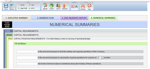 Funding Roadmap, Business & Finance Software, Finance Software Screenshot