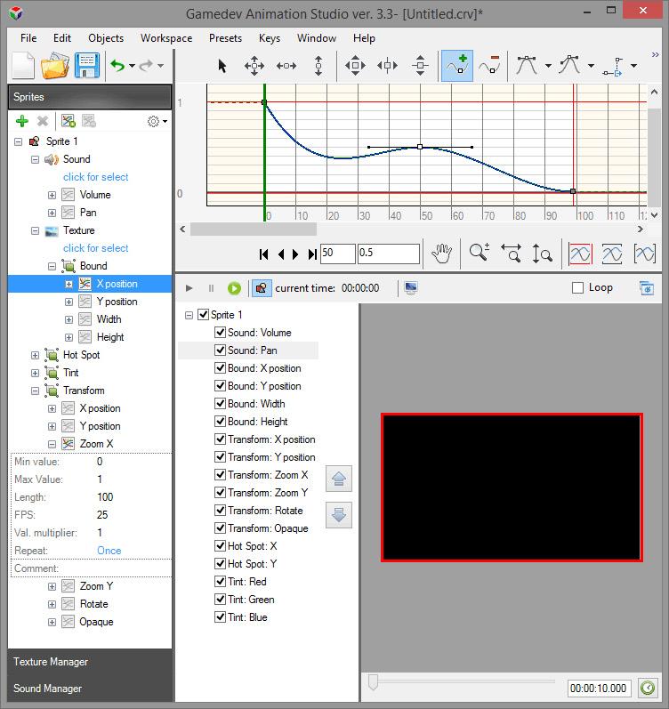 Gamedev Animation Studio Professional Screenshot