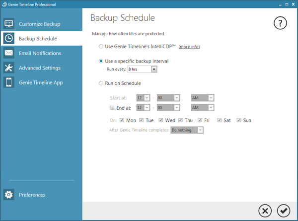 Security Software, Backup and Restore Software Screenshot