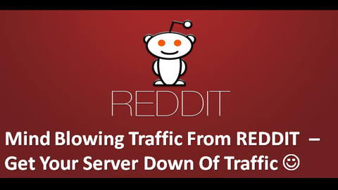 Get Mind Blowing Traffic from Reddit. Screenshot