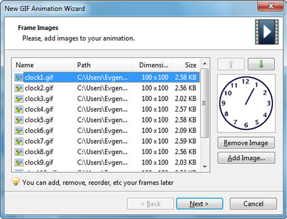 GIF Animator, Design, Photo & Graphics Software Screenshot