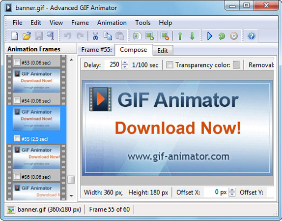 GIF Animator Screenshot