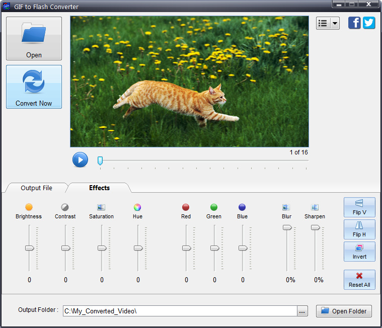GIF to Flash Converter - Animation Software - 50% off for PC
