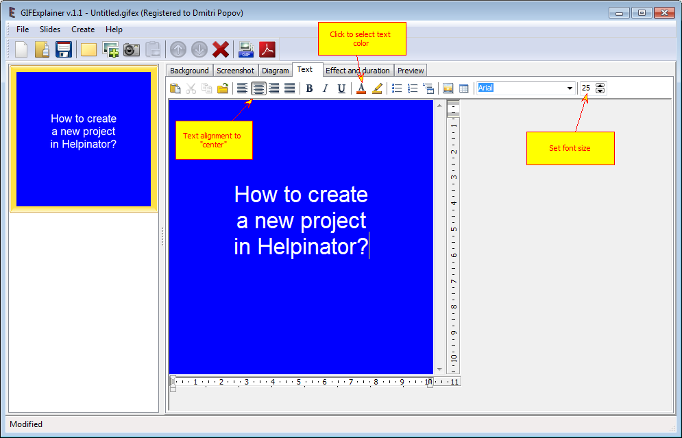 Design Tool Software Screenshot